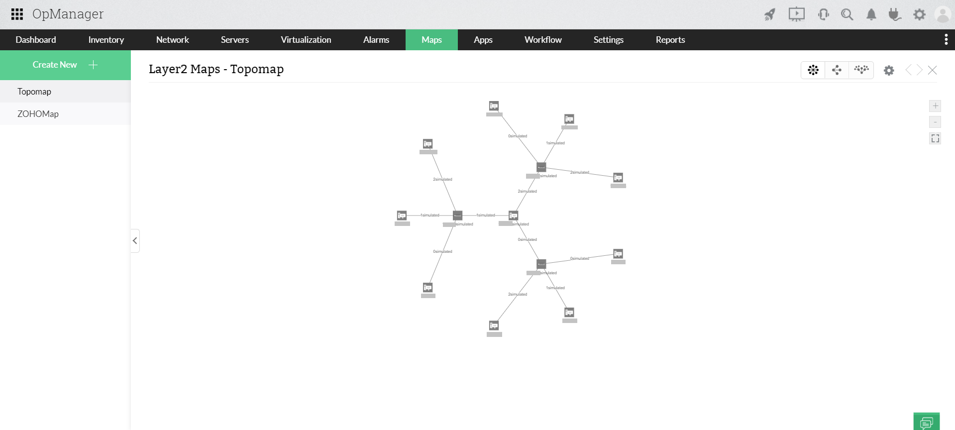 Network Topology Mapper - ManageEngine OpManager