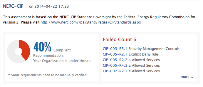NERC CIP Compliance Reporting - ManageEngine Firewall Analyzer