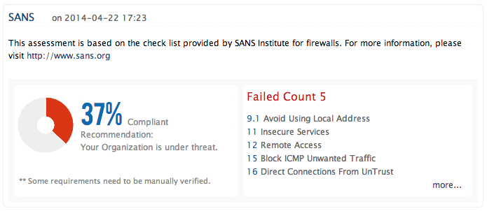SANS Firewall Security Policy Guidelines